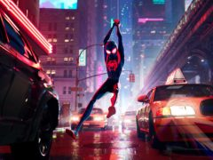 The first Spider-Verse film featured the voice of Shameik Moore as Afro-Latino teenager Miles Morales (Columbia Pictures and Sony)