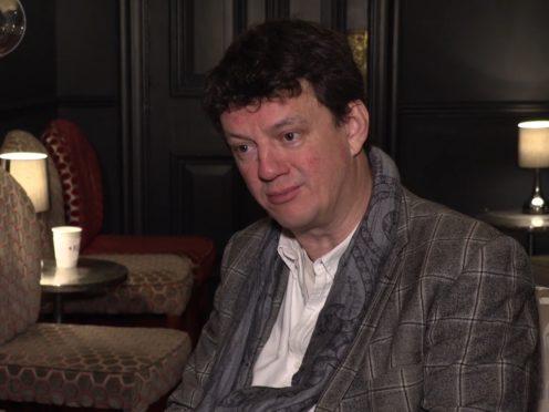 Tom Morris speaking at the Duke of York's Theatre (PA)