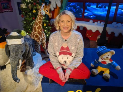 Joanna Page is among the stars booked for festive episodes of Bedtime Stories (BBC)