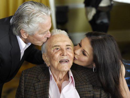 Kirk Douglas is celebrating his 103rd birthday (Chris Pizzello/Invision/AP)