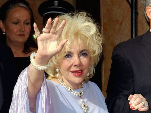Dame Elizabeth Taylor's grandson recalled growing up with the Hollywood film star, as more than 1,000 of her personal items go up for auction (Ian West/PA)