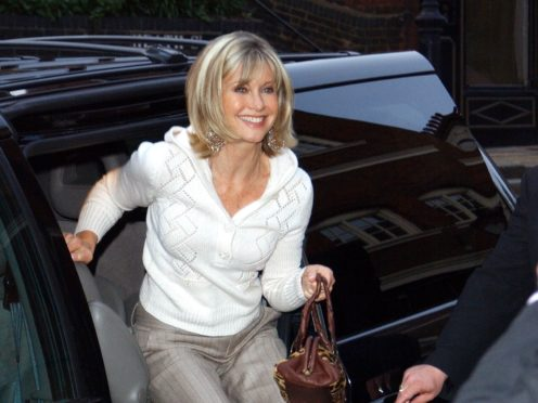 Olivia Newton-John is being recognised for her services to charity, cancer research and entertainment (Ian West/PA)