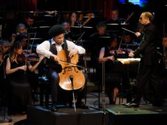 Cellist Sheku Kanneh-Mason, who has been honoured with an MBE (Mark Allan/BBC/PA)