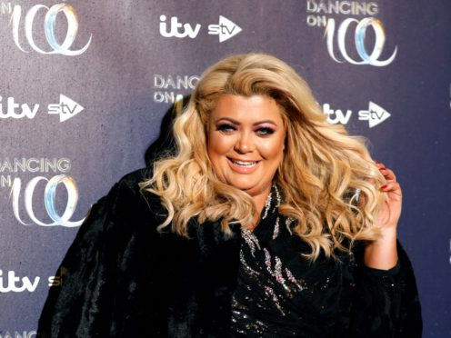 Gemma Collins returned to the ITV show on Sunday (David Parry/PA)