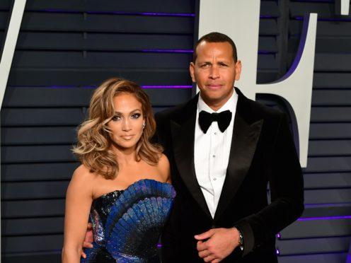 Jennifer Lopez and Alex Rodriguez (Ian West/PA)