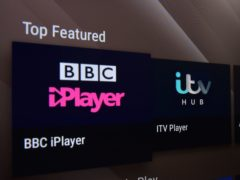 iPlayer (Nick Ansell/PA)