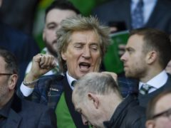 Sir Rod Stewart, who is a vocal Celtic lover, is facing backlash after he congratulated Boris Johnson on his election win (Ian Rutherford/PA)