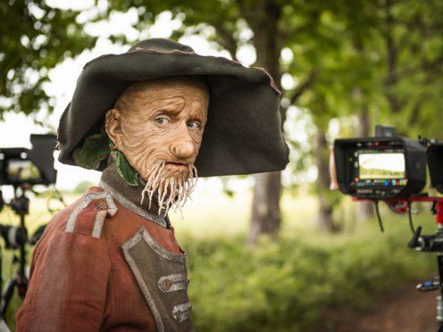 Mackenzie Crook as Worzel Gummidge (Matt Burlem/PA)