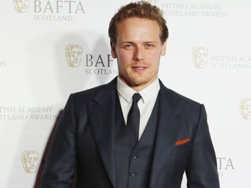 Outlander star Sam Heughan said he was 'so fortunate' to be playing Paul Newman (Jane Barlow/PA)