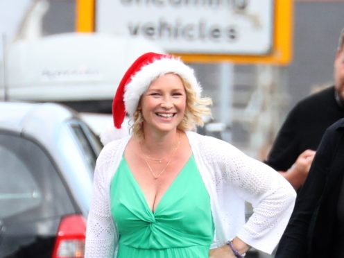 Joanna Page revealed she feared the worst when Ruth Jones tried contacting her over Gavin & Stacey's return (Andrew Matthews/PA)