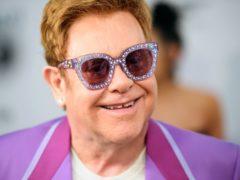 Sir Elton John said he had never suffered from writer's block (Matt Crossick/PA)