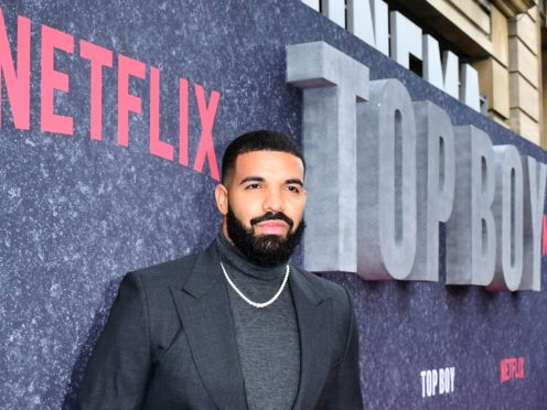 Drake said he has 'no desire' to mend his relationship with fellow rapper Pusha T (Ian West/PA)