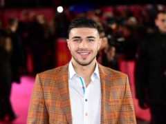 Tommy Fury says ballroom dancing like 'learning another language' (Ian West/PA)