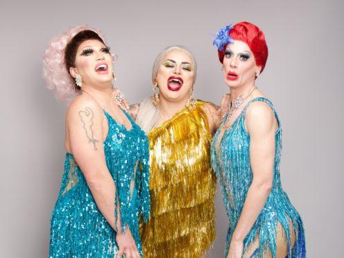 The Vivienne, Baga Chipz and Divina De Campo (Guy Levy/BBC)