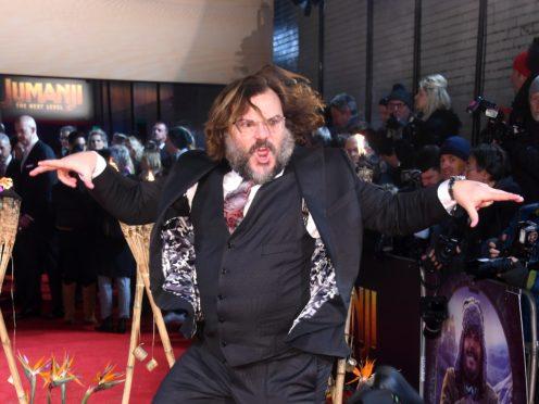 Jack Black attending the Jumanji: The Next Level premiere (Matt Crossick/PA)