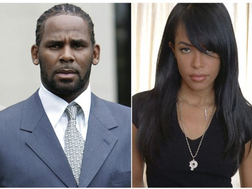 Singer R Kelly and the late R&B singer and actress Aaliyah (AP Photo/File)
