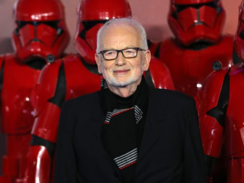 Ian McDiarmid at the premiere of Star Wars: The Rise of Skywalker (Isabel Infantes/PA)