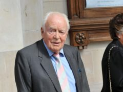 Actor Tony Britton has died aged 95 (Ian Nicholson/PA)