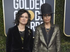 Sara Gilbert (left) and Linda Perry. Gilbert has filed for legal separation from Perry her wife of five years (Jordan Strauss/Invision/AP/PA)