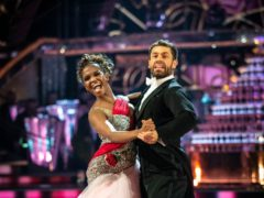 Kelvin Fletcher and Oti Mabuse on Strictly Come Dancing (Guy Levy/BBC)