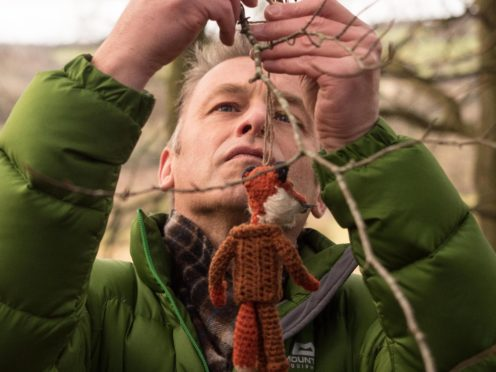 Chris Packham in Stand For The Trees (Antonia Mixie Salter/PA)