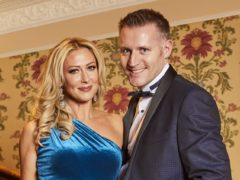 Faye Tozer and her husband Michael Smith met in Newcastle (Hello! magazine/PA)