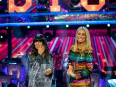 Claudia Winkleman and Tess Daly on Strictly Come Dancing (Guy Levy/BBC/PA)