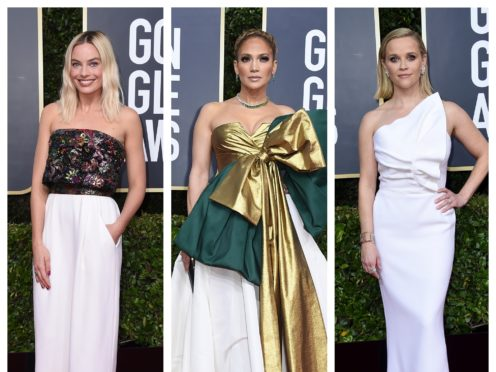 Margot Robbie, Jennifer Lopoez and Reese Witherspoon (AP)