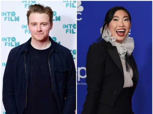 Jack Lowden and Awkwafina are both on the five-strong short list (PA)