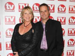 Fern Britton and Phil Vickery (Ian West/PA)
