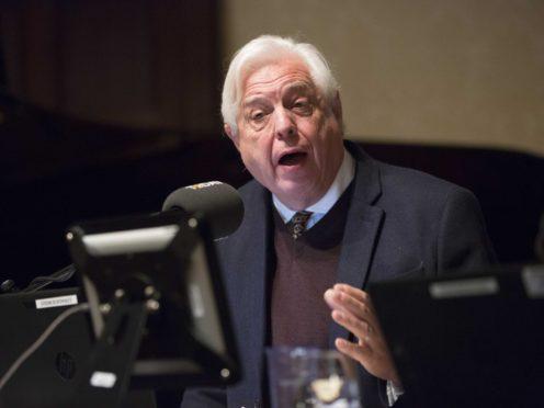 The BBC's world affairs editor John Simpson (Rick Findler/PA)