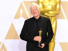 Roger Deakins, pictured, first worked with director Sir Sam Mendes on the 2005 film Jarhead (Ian West/PA)