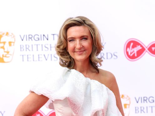 Victoria Derbyshire has said 'We don't give up' after the BBC axed her programme (Isabel Infantes/PA)