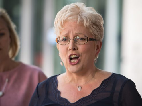 Carrie Gracie is the former BBC China editor (PA)