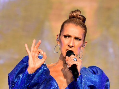 Celine Dion has paid tribute to her mother following her death at the age of 92 (Ian West/PA)