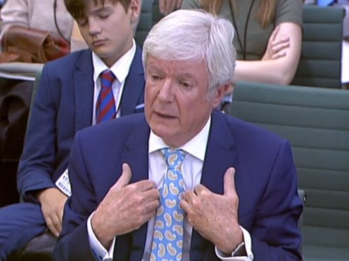 BBC director general Lord Hall has criticised the commission for its political journalism (House of Commons/PA)