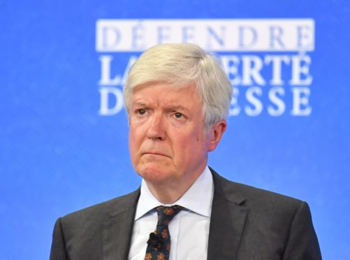 Lord Tony Hall to step down as BBC Director-General (Dominic Lipinski/PA)