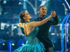 Catherine Tyldesley and Johannes Radebe on Strictly Come Dancing (Guy Levy/BBC/PA)