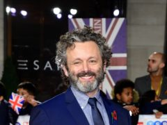 Actor Michael Sheen has revealed he was avoiding playing real people before being tempted to transform into TV host Chris Tarrant (Ian West/PA)