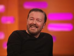 Ricky Gervais has presented the Golden Globes four times before (Isabel Infantes/PA)