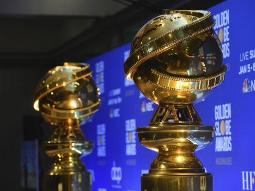 Replicas of Golden Globe statues (AP/Chris Pizzello)