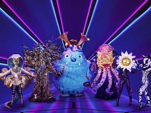 US music star is the latest to be unveiled in The Masked Singer (Vincent Dolman/ITV/PA)