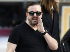 Hollywood is braced for controversy as Ricky Gervais prepares to return as host of the Golden Globes (AP Photo/Chris Pizzello)