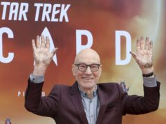 Sir Patrick Stewart is the latest star to receive one of Hollywood's oldest honours (Willy Sanjuan/Invision/AP)