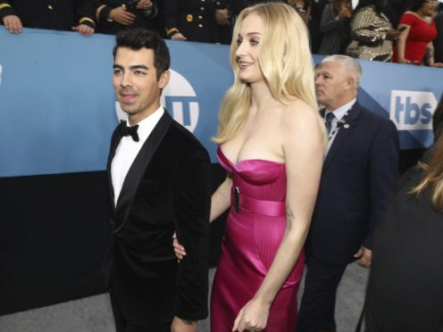 Joe Jonas and Sophie Turner turned out for the Los Angeles ceremony (Matt Sayles/Invision/AP)