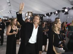 Brad Pitt arrives at the 26th annual Screen Actors Guild Awards (Matt Sayles/Invision/AP)