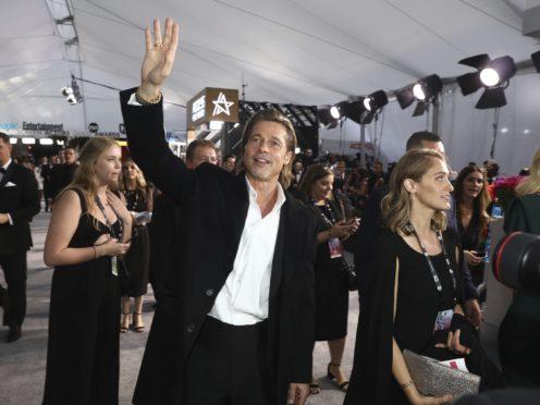 Brad Pitt arrives at the 26th annual Screen Actors Guild Awards (Matt Sayles/Invision/AP)