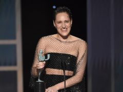 The Fleabag star took home a prize for her work on the acclaimed comedy's second season (Chris Pizzello/AP)