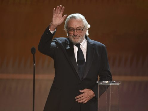 """Robert De Niro took a thinly veiled swipe at Donald Trump as he decried """"a blatant abuse of power"""" at the Screen Actors Guild Awards (Photo/Chris Pizzello)"""