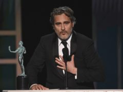 Joaquin Phoenix was among the winners (Chris Pizzello/AP)